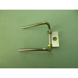 pin rear brake pad