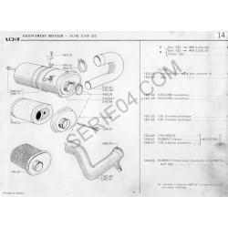 1423 60 - Couvercle de filtre à air