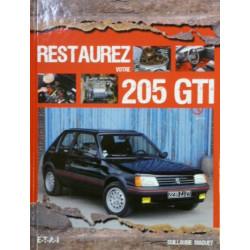 """livre """"restaurez votre 205 GTI"""""""