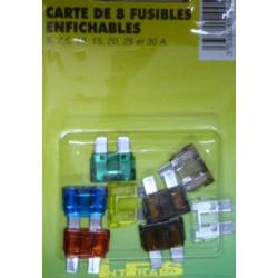 pochette de 8 fusibles