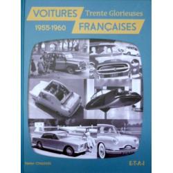 """Livre """"Voitures françaises 1955-1960"""""""