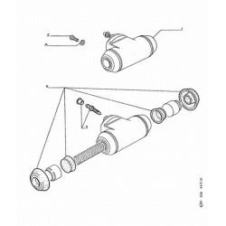 Cylindre de rouearrière gauche