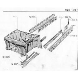 Renfort de bas de caisse