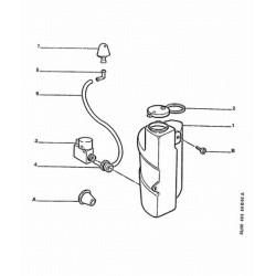 raccord de tuyau de lave-vitre