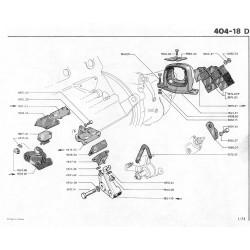 support moteur D ou G