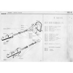 Kit de réparation de maître cylindre
