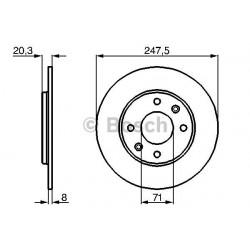 pair of brake discs