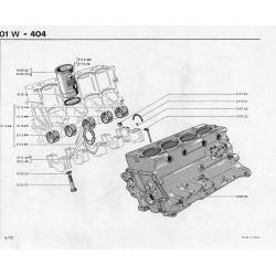 kit del pistón del motor