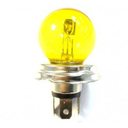 Yellow headlight bulb EC