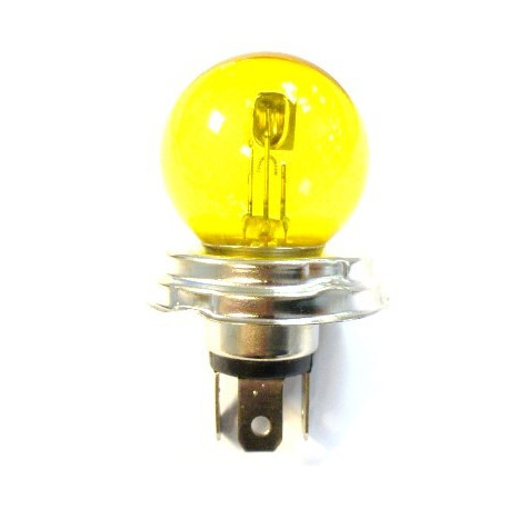 Yellow headlight bulb EC
