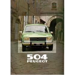 catalogue de présentation 504 break