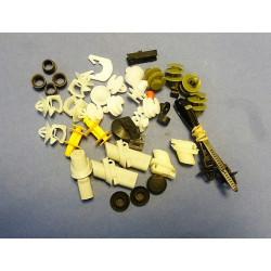 kit agrafes de fixation de porte