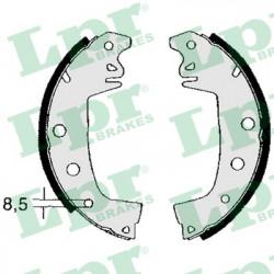 set of 4 rear brake shoes
