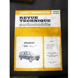 revue technique 204 diesel