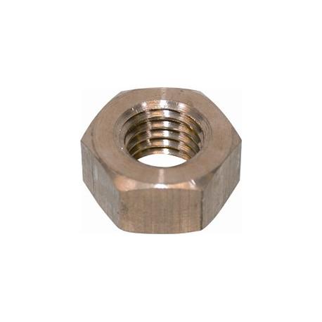 brass nut flange exhaust tube