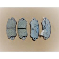 set of rear brake pads