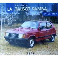 """Livre """"La Talbot Samba de mon père"""""""