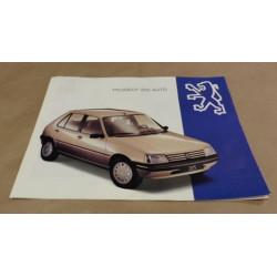 catalogue de présentation 205 Automatique 1993