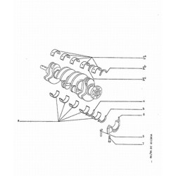 crankshaft half-bearing set