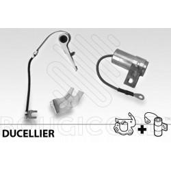 screw set for lighter platinum Ducellier