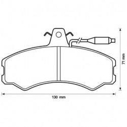 Brake pad kit