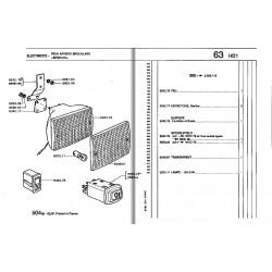 interrupteur LP ou antibrouillard