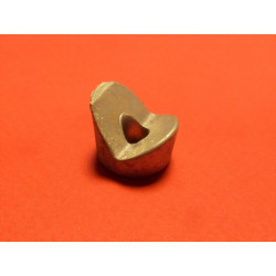 Battery wedge clamping tie aluminum