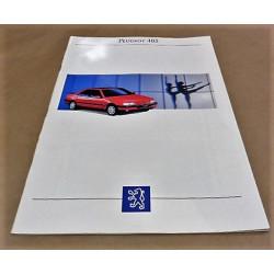catalogue de présentation 405