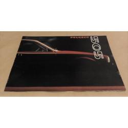 catalogue de présentation 505