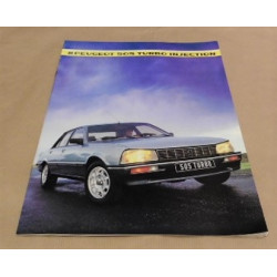 catalogue de présentation 505 Turbo injection