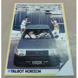 catalogue de présentation Horizon 1983
