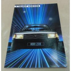 catalogue de présentation Horizon 1984