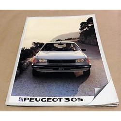 catalogue de présentation salon 1985