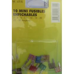 pochette de 10 micro fusibles