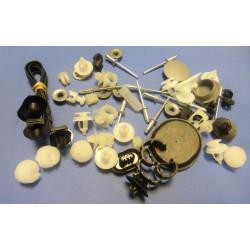 kit d'agrafes pour porte