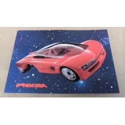 carte de présentation Peugeot Proxima