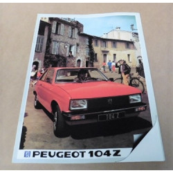 catalogue de présentation 104 1983