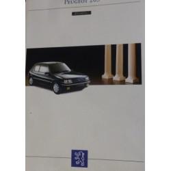 catalogue de présentation 205 Gentry 1993