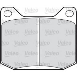 Set of front brake pads