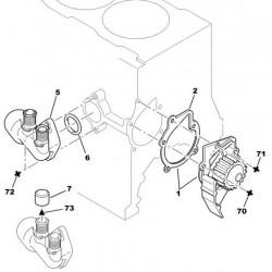 pompe à eau Hdi