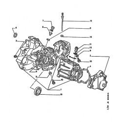 cap gearbox housing