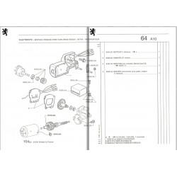 manivelle de moteur d'essuie-glace Bosch