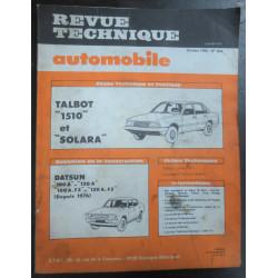 revue technique Solara - 1510