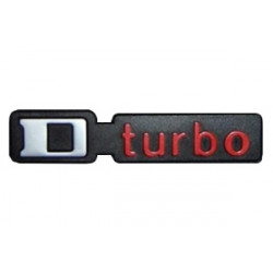 "Monogramme ""D Turbo"""
