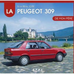 """livre """"La Peugeot 309 de mon père"""""""