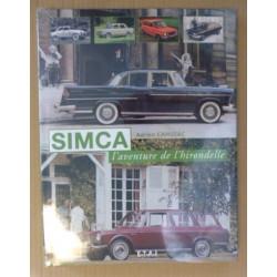 """livre """"Simca, l'aventure de l'hirondelle"""""""