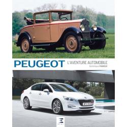 """livre """"Peugeot l'aventure automobile"""""""