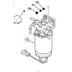 filtre à gasoil complet