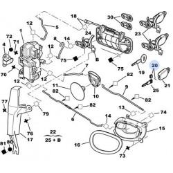 clé brute mécanique