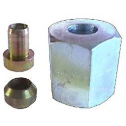 kit écrou de tuyau d'injecteur Ø6x14